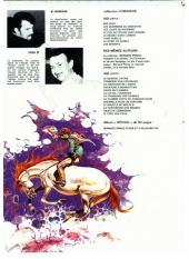 Verso de Comanche -3c1980- Les loups du Wyoming