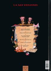 Verso de La nef des fous -5- Puzzle