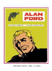 Verso de Alan Ford (Sagédition) -1- Le clan dynamite