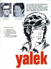 Verso de Yalek -6- La ville sans ombre