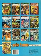 Verso de Yoko Tsuno -14- Le feu de Wotan
