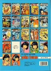 Verso de Yoko Tsuno -17- Le matin du monde