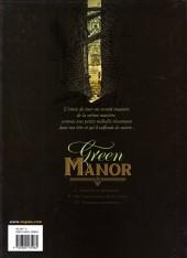 Verso de Green Manor -3- Fantaisies meurtrières