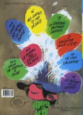 Verso de Gaston (Fac-similés) -3R3TL- Gare aux gaffes du gars gonflé