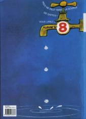 Verso de Gaston (Fac-similés) -7TL- Un gaffeur sachant gaffer