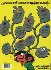Verso de Gaston (Fac-similés) -12TL- Le gang des gaffeurs