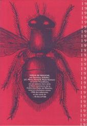 Verso de Cartes de vœux l'Association -HC- Vœux de mouche
