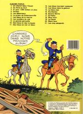 Verso de Les tuniques Bleues -21- Les cinq salopards