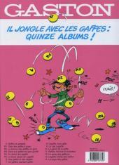Verso de Gaston (Fac-similés) -5R5TL- Le lourd passé de Lagaffe