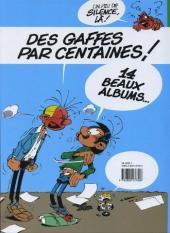 Verso de Gaston (Fac-similés) -0TL- Gaffes et gadgets