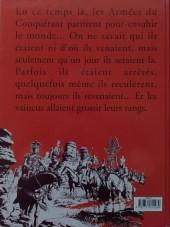 Verso de Les armées du conquérant - Tome 1b94