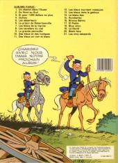 Verso de Les tuniques Bleues -22- Des bleus et des dentelles