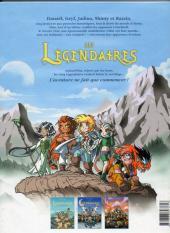 Verso de Les légendaires -3- Frères Ennemis