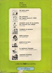 Verso de Tromblon et Bottaclou - Les aventures de Tromblon et Bottaclou
