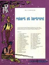 Verso de Robert et Bertrand -42- La licorne