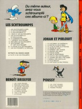 Verso de Les schtroumpfs -3b83b- La schtroumpfette