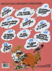 Verso de Gaston (Fac-similés) -13TL- Lagaffe mérite des baffes