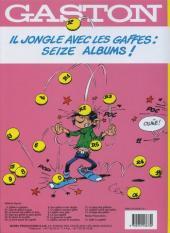 Verso de Gaston (Fac-similés) -15TL- Gaffe à Lagaffe!