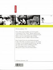Verso de Histoires graphiques - Véro