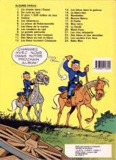 Verso de Les tuniques Bleues -25- Des bleus et des bosses