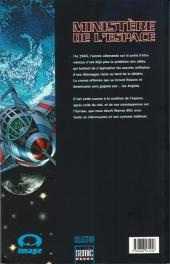 Verso de Ministère de l'espace / Royal Space Force - Ministère de l'espace