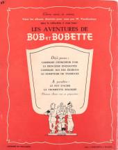 Verso de Bob et Bobette -4- Le dompteur de taureaux