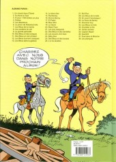 Verso de Les tuniques Bleues -26ES- L'Or du Québec