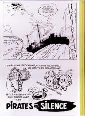 Verso de Spirou et Fantasio -9TL- Le repaire de la murène