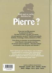 Verso de L'encyclopédie des Prénoms en BD -1- Pierre