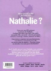 Verso de L'encyclopédie des Prénoms en BD -2- Nathalie