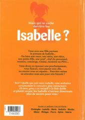 Verso de L'encyclopédie des Prénoms en BD -4- Isabelle