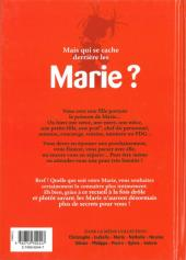 Verso de L'encyclopédie des Prénoms en BD -9- Marie
