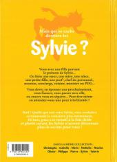 Verso de L'encyclopédie des Prénoms en BD -10- Sylvie