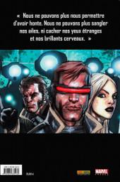 Verso de X-Men (New) (Marvel Deluxe) -1- E comme extinction
