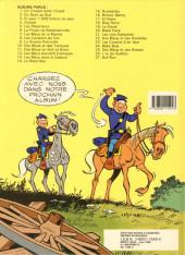 Verso de Les tuniques Bleues -28- Les bleus de la balle