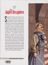 Verso de Les aigles décapitées -18- L'Écuyer d'Angoulesme