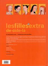 Verso de Les filles -HS1- Deci delà, 19 histoires courtes des filles