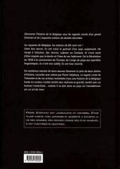 Verso de (DOC) Études et essais divers -6- L'Histoire de Belgique au fil de la BD de 1830 à nos jours