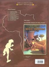 Verso de Jimmy Tousseul -5a- Le royaume du léopard