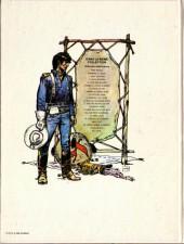 Verso de Blueberry (La Jeunesse de) -3a1981- Cavalier bleu