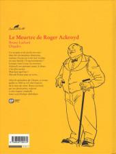 Verso de Agatha Christie (Emmanuel Proust Éditions) -8- Le Meurtre de Roger Ackroyd