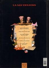 Verso de La nef des fous -5HC- Puzzle