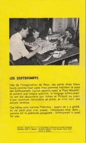 Verso de Johan et Pirlouit -9gp- La flûte à 6 schtroumpfs (GP)