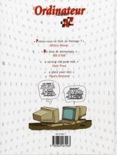 Verso de Illustré (Le Petit) (La Sirène / Soleil Productions / Elcy) - L'Ordinateur illustré de A à Z