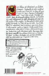 Verso de Cabu (voyages au bout du crayon) - Cabu en Chine