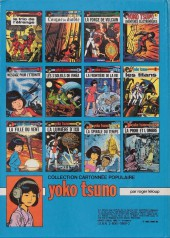 Verso de Yoko Tsuno -12TT- La proie et l'ombre
