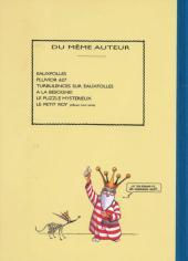 Verso de La nef des fous -5TL- Le puzzle mystèrieux