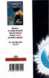 Verso de Galaxy express 999 -6- Tome 6