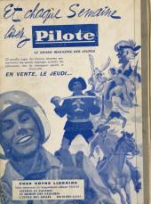 Verso de (Recueil) Pilote (Album du journal - Édition française cartonnée) -8- Reliure n°8