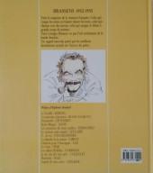 Verso de Brassens -1- Brassens 1952 - 1955